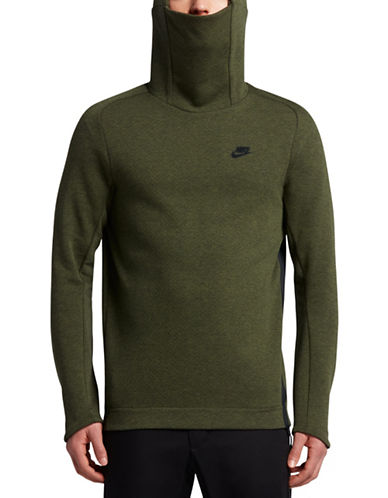 Nike Sportswear Tech Fleece Hoodie-GREEN-Medium 89087501_GREEN_Medium