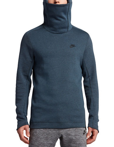 Nike Sportswear Tech Fleece Hoodie-BLUE-Small 89087504_BLUE_Small