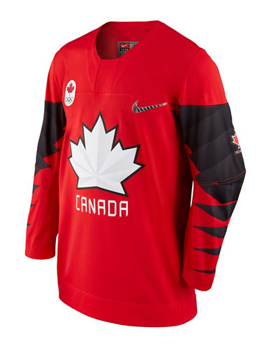 Nike Team Canada Olympic Jersey-RED-XX-Large