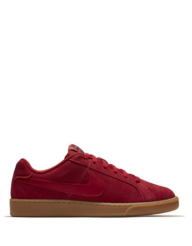 Nike Court Royale Suede Sneakers-RED-12