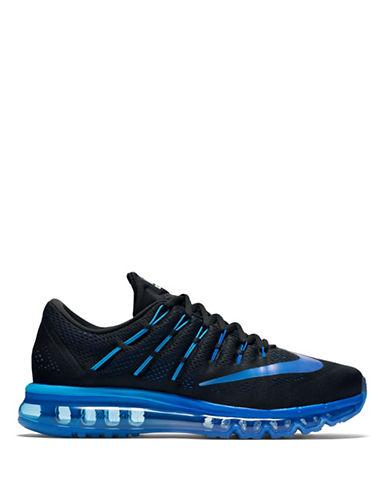 Nike Air Max 2016 Running Shoes-BLACK/BLUE-12 88582824_BLACK/BLUE_12