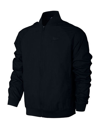 Nike Woven Players Sportswear Jacket-BLACK-Medium