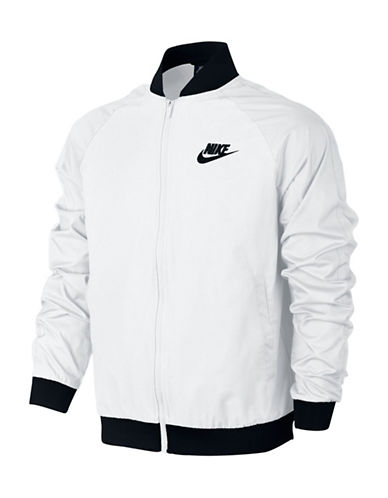 Nike Woven Players Sportswear Jacket-WHITE-X-Large 89848001_WHITE_X-Large