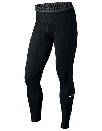 Nike Seamed Cool Tights-BLACK-Large
