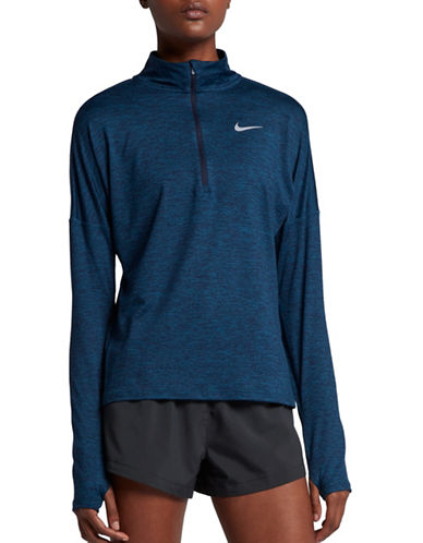 Nike Dry Element Running Top-BLUE-X-Small