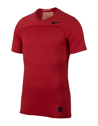 Nike Pro Hypercool T-Shirt-RED-Small 89157696_RED_Small