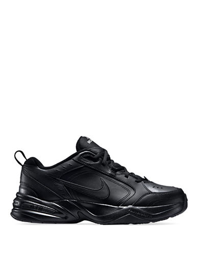 Nike Mens Air Monarch Sneakers-BLACK-9.5