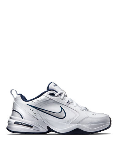 Nike Mens Air Monarch Sneakers-WHITE-8