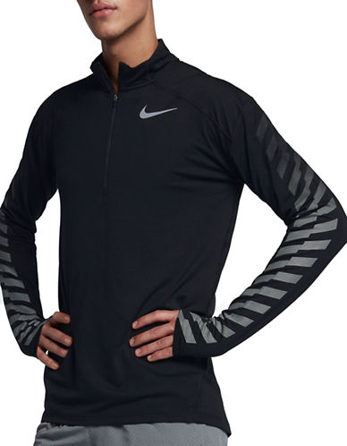 Nike Dry Element Flash Running Top-BLACK-Large 89692781_BLACK_Large