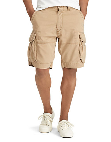 Polo Ralph Lauren Geller Cargo Shorts-MONTANA KHAKI-36