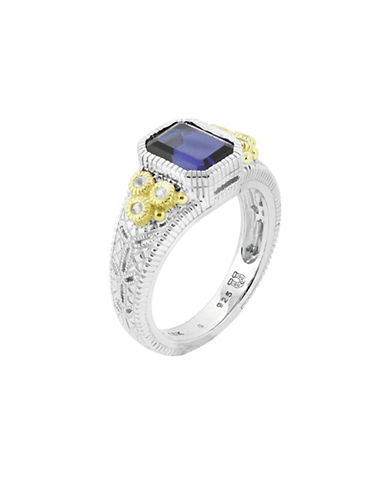Judith Ripka Estate Cushion Ring-CORUNDUM-7