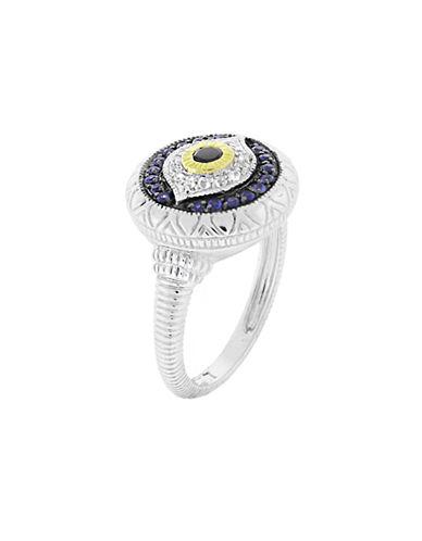 Judith Ripka Evil Eye Ring-SAPPHIRE-7