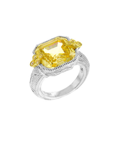 Judith Ripka East West Estate Ring-CRYSTAL-7