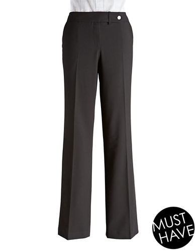 Calvin Klein Classic Fit Pants-BLACK-8