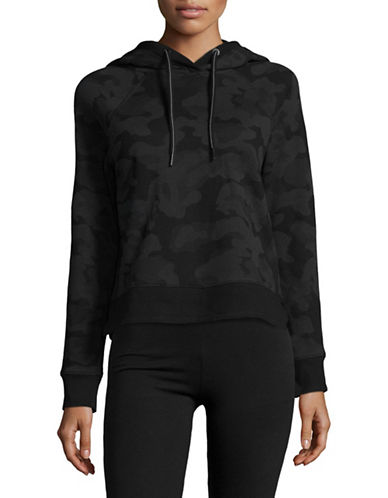 Calvin Klein Performance Logo Hoodie with Grosgrain Trim-BLACK-X-Small 89453507_BLACK_X-Small