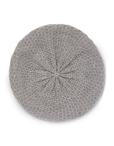 Calvin Klein Lurex Texture Beret-GREY-One Size