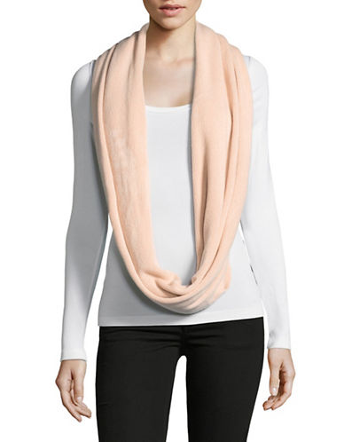 Calvin Klein Oversized Infinity Scarf-BLUSH-One Size