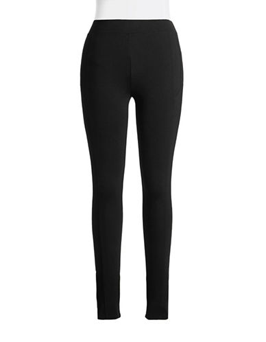 Calvin Klein Performance Quick Dry Ponte Leggings-BLACK-Medium 86651987_BLACK_Medium