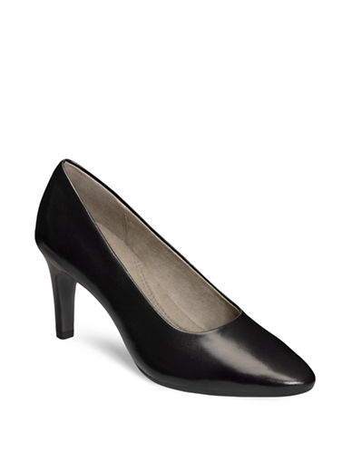 Aerosoles Exquisite Suede Pumps-BLACK-6