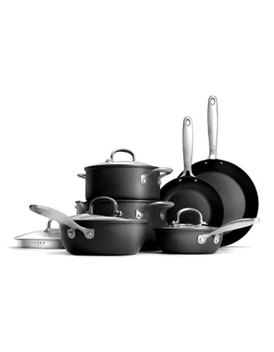 Oxo 10-Piece Hard Anodized Non-Stick Pro Cookware Set-NO COLOUR-10in