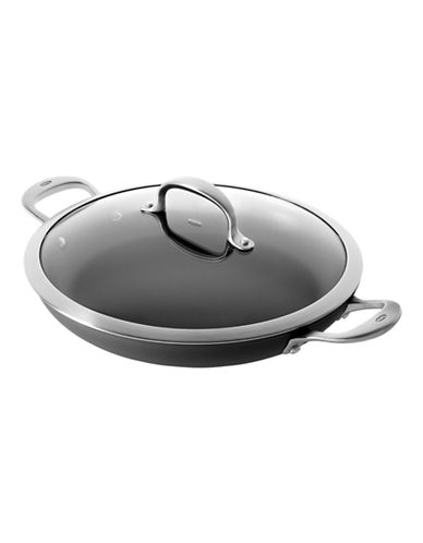 Oxo 12-Inch Hard Anodized Non-Stick Pro Braising Pan-BLACK-12