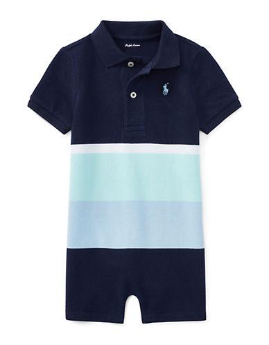 Ralph Lauren Childrenswear Colourblock Mesh Polo Shortall 90029345