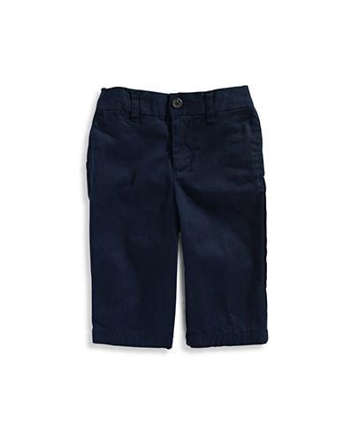 Ralph Lauren Childrenswear Lightweight Twill Pants-NAVY-9 Months