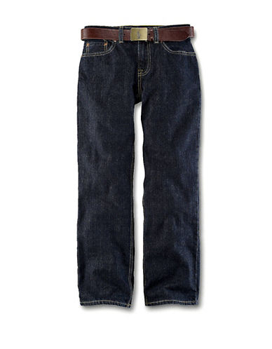 Ralph Lauren Childrenswear Slim Fit Jeans-VESTRY WASH-8