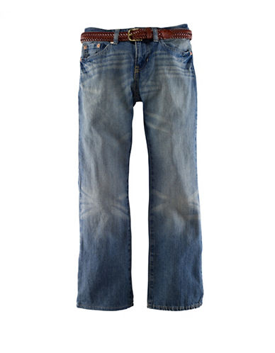 Ralph Lauren Childrenswear Mott Slim Denim Jeans-BLUE-2T