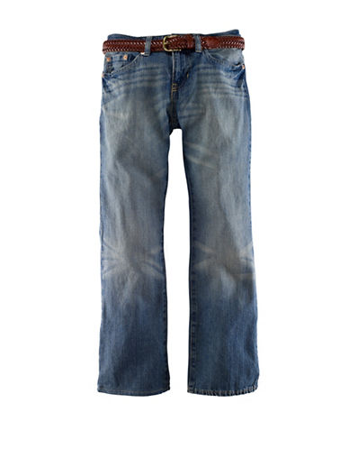 Ralph Lauren Childrenswear Mott Slim Denim Jeans-BLUE-16 86343321_BLUE_16