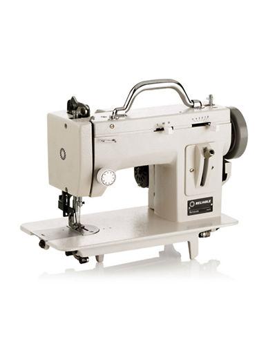 Reliable Barracuda 200ZW Zig-Zag Sewing Machine-WHITE-One Size