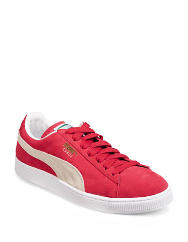Puma Suede Classic Plus Sneakers-RED-13
