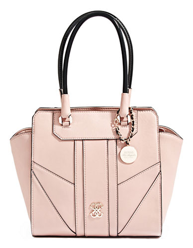 cead5476f326 UPC 885935711500 - GUESS Paxton Avery Satchel (Nude) Tote Handbags ...