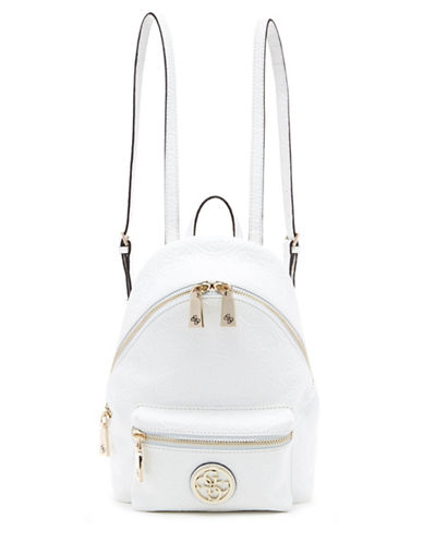 UPC 885935832793 - Guess Leeza Logo Small Backpack-WHITE-One Size ...