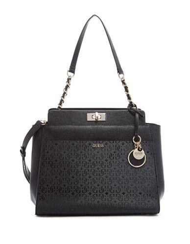 Guess Janette Shoulder Bag-BLACK-One Size