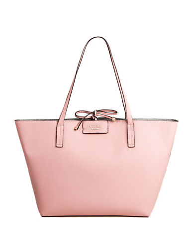 Guess Bobbi Inside-Out Tote Set-ROSE-One Size