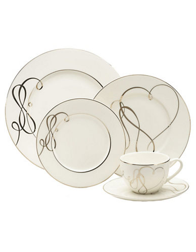 Mikasa Love Story 5 Piece Place Setting-WHITE-One Size