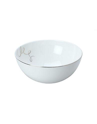 Mikasa Love Story Vegetable Bowl-WHITE-One Size