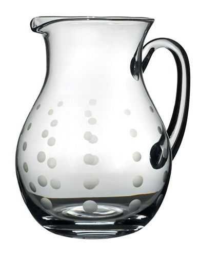 Mikasa Cheers Round Glass Pitcher-CLEAR-One Size