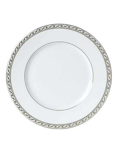 Mikasa Infinity Band Salad Plate-WHITE-8.5 Inches