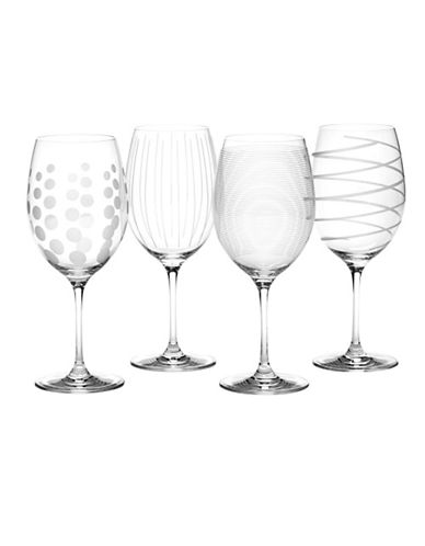 Mikasa Cheers Red Wine Glasses Set Of 4-GLASS-One Size