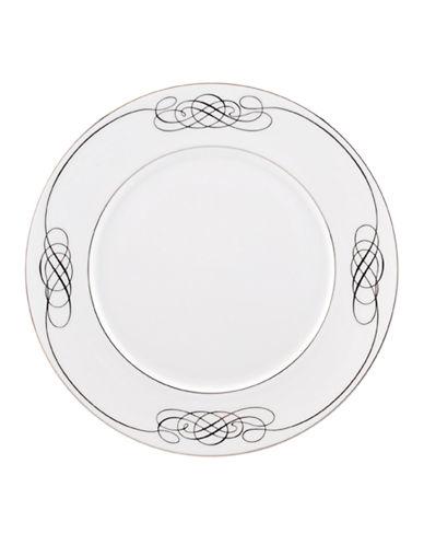 Mikasa Cameo Platinum Accent Plate-WHITE-One Size