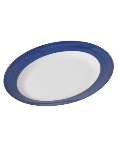 Mikasa Cadence Oval Platter-COBALT-One Size