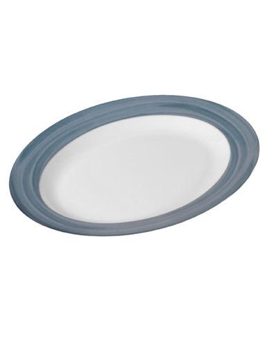 Mikasa Cadence Oval Platter-SLATE-One Size