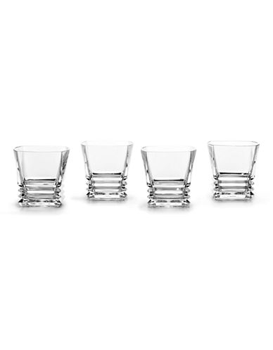Mikasa Maria Double Old Fashioned Glass  Set of 4-CLEAR-One Size