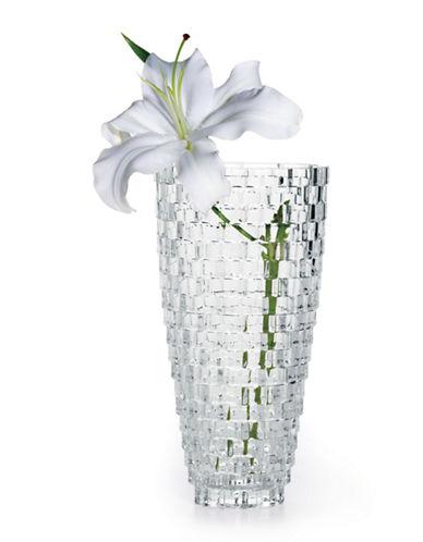 Mikasa Palazzo Crystal Vase-NO COLOR-Medium