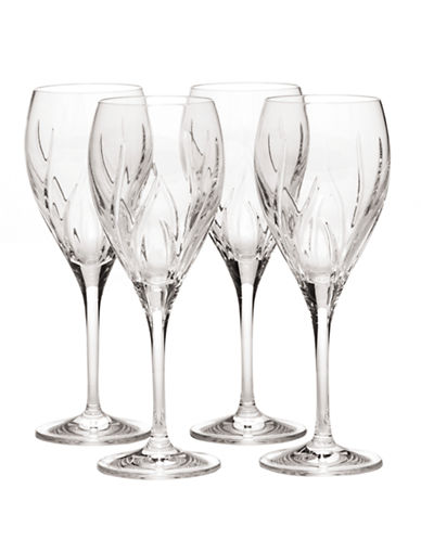 Mikasa Agena Goblet  Set of 4-CRYSTAL-One Size