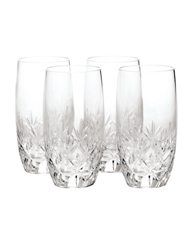 Mikasa Orion Hi-Ball  Glass  Set of 4-CLEAR-One Size