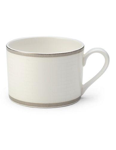 Mikasa Palazzo Tea Cup-WHITE-One Size
