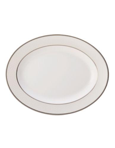 Mikasa Palazzo Oval Platter-WHITE-One Size